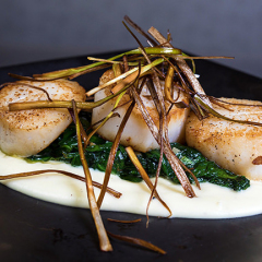 streetlight-scallop-app-plated-over-spinach_1